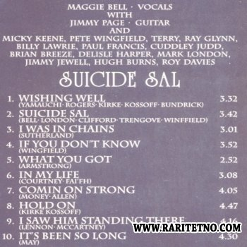 Maggie Bell - Suicide Sal 1975