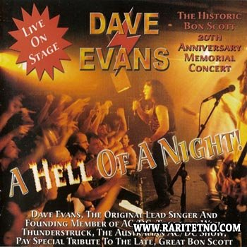 Dave Evans - A Hell Of A Night 2000