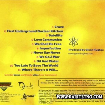 Glenn Hughes - First Underground Nuclear Kitchen 2008(Lossless + MP3)