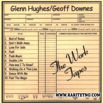 Glenn Hughes (With Geoff Downes) - The Work Tapes - 1998