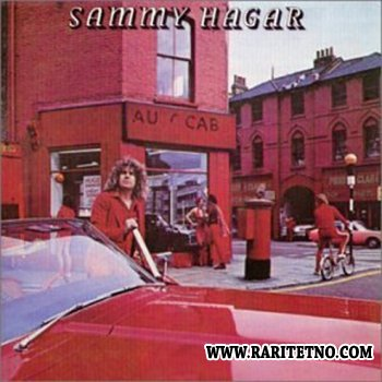 Sammy Hagar - red 1977