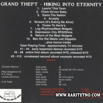 Grand Theft - Hiking Into Eternity 1972