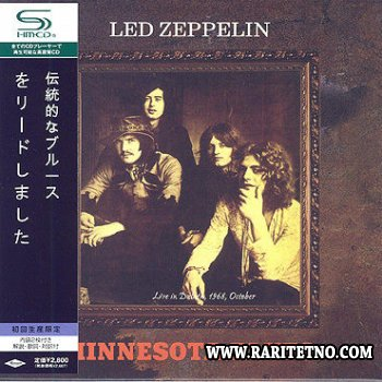 Led Zeppelin - Minnesota Blues: Live in Duluth 1968