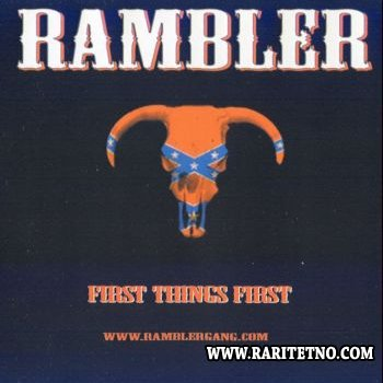 Rambler - First Things First 2004 (Lossless+MP3)