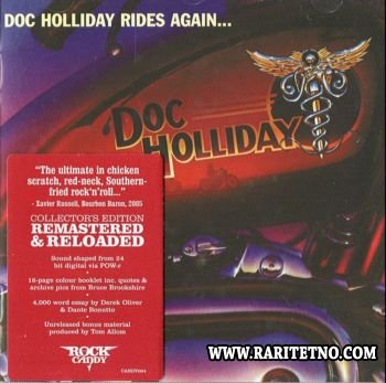 Doc Holliday - Doc Holliday Rides Again 1981 (Lossless+MP3)