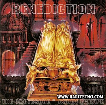Benediction - The Grotesque/Ashen Epitaph (EP) 1994