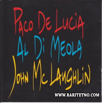Al Di Meola, John McLaughlin, Paco De Lucia - The Guitar Trio 1996