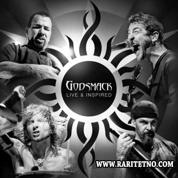 Godsmack - Live & Inspired (2 CD) 2012   (Lossless)