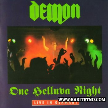 Demon - One Helluva Night (Live in Germany) 2CD 1990