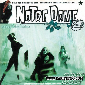 Notre Dame - Nightmare Before Christmas 1999