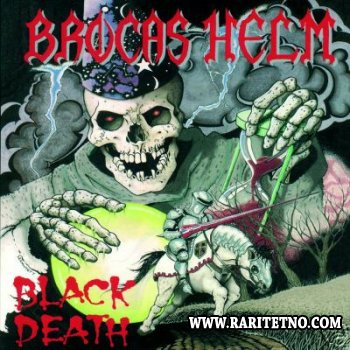 Brocas Helm - Black Death 1988 (Lossless + MP3)