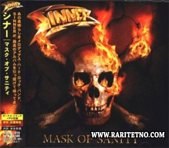 Sinner - Mask Of Sanity 2007