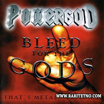 Powergod - Bleed For The Gods - That's Metal Lesson I 2001