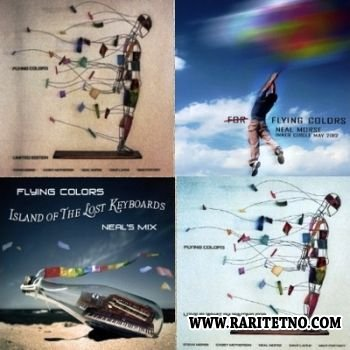 FLYING COLORS - Island Of The Lost Keyboards: Neal's Mix and 4 other CDs