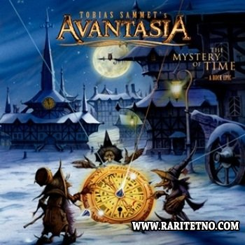 Avantasia - The Mystery Of Time (Deluxe Earbook Edition) (2CD) 2013