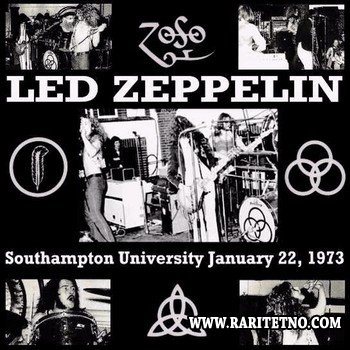 Led Zeppelin - The Great Lost Album (Southampton University, England – 22.01.73) 1973