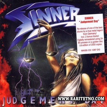 Sinner- Judgement Day (24 bit, Remastered) 1996 (2008)