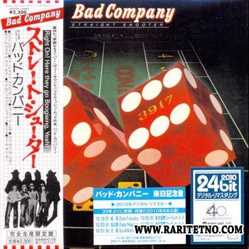 Bad Company - Straight Shooter [24bit Japan Remastered 2010] 1975