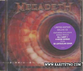 Megadeth - Super Collider (Limited Edittion) 2013 (Lossless + MP3)