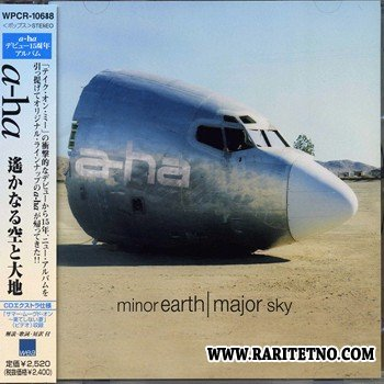 A-HA - Minor Earth / Major Sky [Japanese Edition] 2000