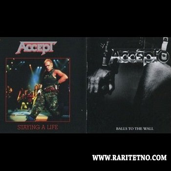 Accept - Balls To The Wall+Staying A Life (2CD) 2013 (Lossless)
