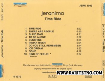 Jeronimo - Time Ride 1972