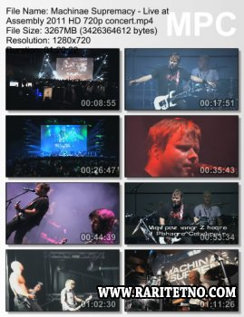 Machinae Supremacy - Live at Assembly 2011 (video)