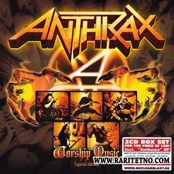 Anthrax - Worship Music [Special Edition] (2 CD) 2013