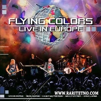 FLYING COLORS - LIve in Europe (2CD) 2013