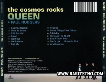Queen + Paul Rodgers - The Cosmos Rocks 2008
