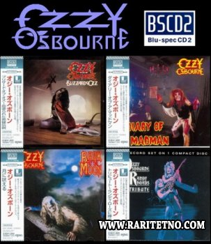 Ozzy Osbourne: 4 Blu-spec CD2 Albums Collection 2013 (Lossless)