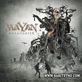 MaYaN - Antagonise (Limited Edition Digipack) 2014