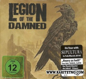 Legion Of The Damned - Ravenous Plague (Limited First Edition Mediabook) 2014 (Lossless + MP3)