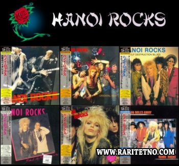 Hanoi Rocks: 6 Albums Victor Entertainment Japan Mini LP SHM-CD 2013 (LOSSLESS)