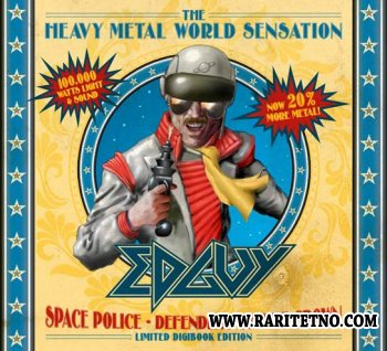 Edguy - Space Police - Defenders Of The Crown (Limited Edition 2CD) 2014 (Lossless+MP3)