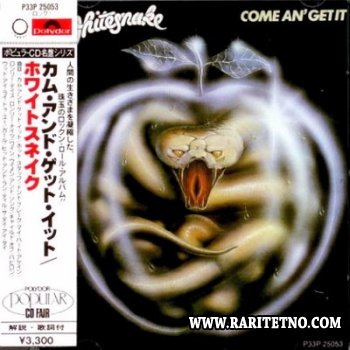 Whitesnake - Come An' Get It (Japan 1st Press) 1981