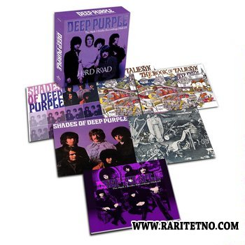 Deep Purple - Hard Road:the Mark 1 Studio Recordings 1968-1969 (Box-Set)