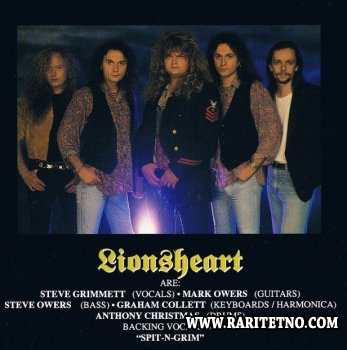 Lionsheart - Lionsheart 1993 (Japanese Edition) (Lossless + MP3)