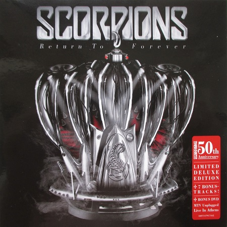 Scorpions - Return to Forever (Limited Deluxe Edition) 2015 (lossless)