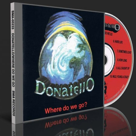 Donatello - Where Do We Go? 1992 (Lossless + MP3)