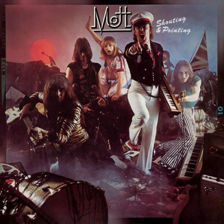 Mott - Shouting And Pointing 1976