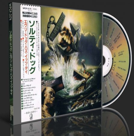 SALTY DOG - EVERY DOG HAS ITS DAY 1990 (Japanese Edition) (Lossless + MP3)