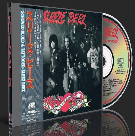 Sleeze Beez - Screwed Blued & Tattooed 1990 (Japanese Edition) (Lossless+MP3)