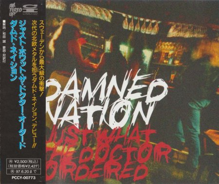 Damned Nation - Just What The Doctor Ordered 1995 (JAPANESE EDITION) (LOSSLESS)