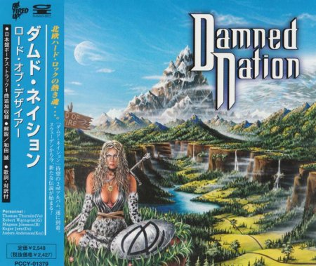 Damned Nation - Road Of Desire 1999 (JAPANESE EDITION) (LOSSLESS)
