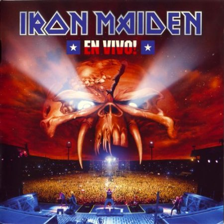 Iron Maiden - En Vivo! 2012 (Lossless)
