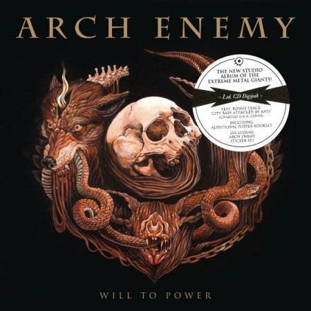 Arch Enemy - Will To Power (Limited Edition) 2017 (Lossless)