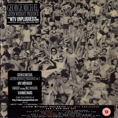 George Michael - Listen Without Prejudice vol.1 / MTV Unplugged (Limited Edition Deluxe Set) 2017