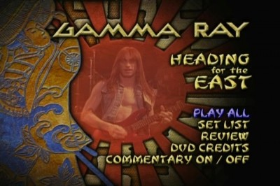 GAMMA RAY - HEADING FOR THE EAST  1990 (2003) (Video)