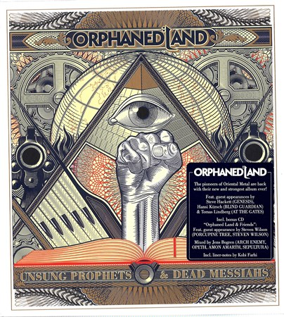 ORPHANED LAND - UNSUNG PROPHETS AND DEAD MESSIAHS  2CD (LIMITED EDITION) 2018 (Lossless)